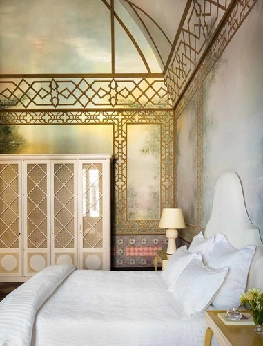 50 Best Interior Design Projects by Jacques Grange jacques grange 50 Best Interior Design Projects by Jacques Grange Best Interior Designers Jacques Grange Interior Design Luxury Interiors Classic Bedroom with Oriental Inspirations