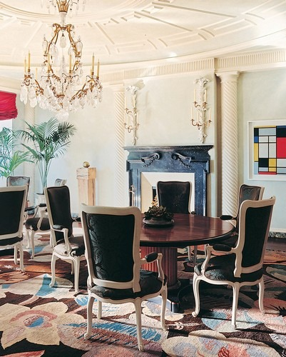 50 Best Interior Design Projects by Jacques Grange jacques grange 50 Best Interior Design Projects by Jacques Grange Best Interior Designers Jacques Grange Interior Design Luxury Interiors Dining Room in Park Avenue Apartment