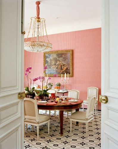 50 Best Interior Design Projects by Jacques Grange jacques grange 50 Best Interior Design Projects by Jacques Grange Best Interior Designers Jacques Grange Interior Design Luxury Interiors Dining Room with Parisian Inspiration