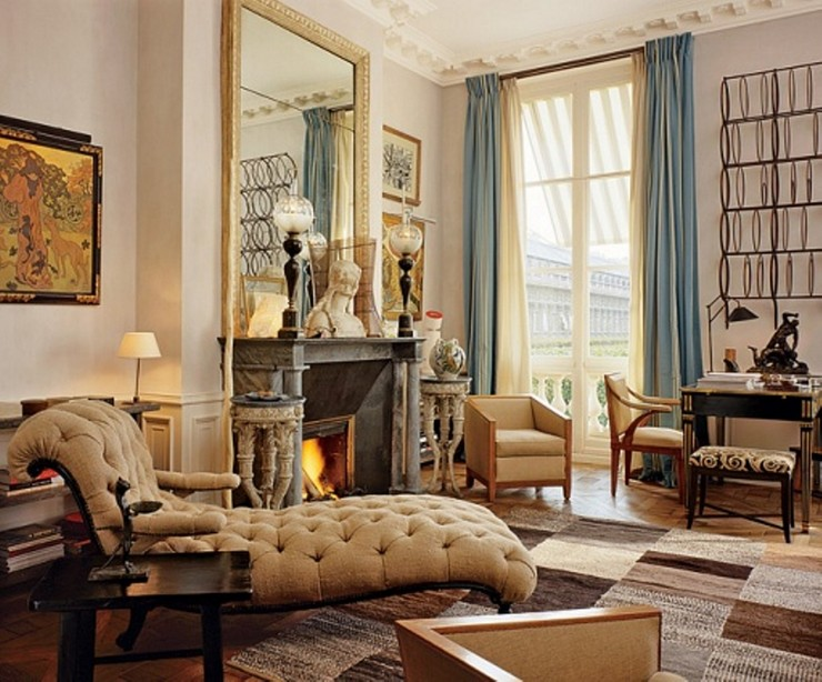 50 Best Interior Design Projects by Jacques Grange jacques grange 50 Best Interior Design Projects by Jacques Grange Best Interior Designers Jacques Grange Interior Design Luxury Interiors Living Room with Fireplace