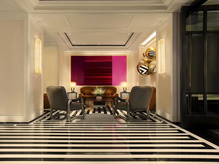 50 Best Interior Design Projects by Jacques Grange jacques grange 50 Best Interior Design Projects by Jacques Grange Best Interior Designers Jacques Grange Interior Design Luxury Interiors Mark Hotel Interior Design NY 4