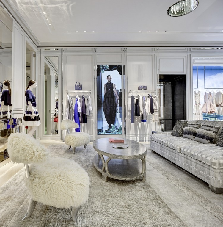 Peter Marino Luxury Interiors - The Luxury Interior Design of Dior Store dior Are You a Dior Fan? Then This Book is For You Best Interior Designers Peter Marino Dior Store 3