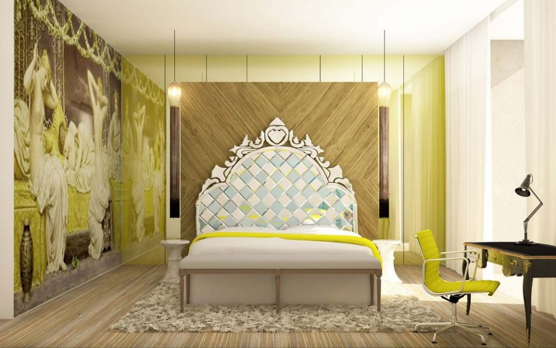 25 Best Interior Design Projects by YOO Studio  25 Best Interior Design Projects by YOO Studio Best Interior Designers Yoo Interiors Luxury Interiors Master Bedroom with Indian Inspirations