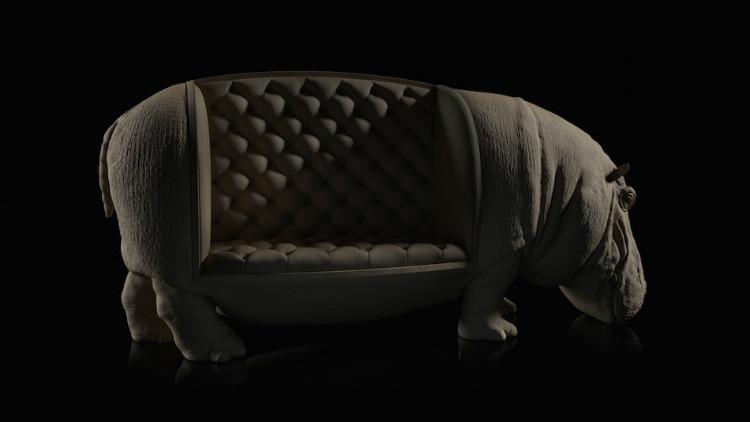 HIPO-LATERAL-chair-animals-maximo-riera  Animal Chairs by Maximo Riera HIPO LATERAL chair animals maximo riera