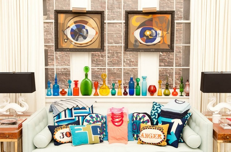 J. Adler and his philosophy in design- your home should make you happy jonathan adler 25 Best Interior Design Projects by Jonathan Adler Jonthan Adler and his philosophy in design your home should make you happy