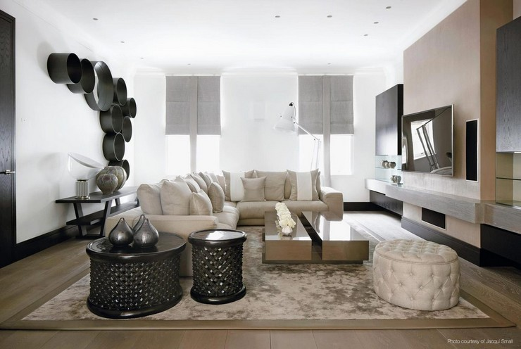 Kelly Hoppen - The Family Home in London 2  50 Best Interior Design Projects by Kelly Hoppen Kelly Hoppen The Family Home in London 2