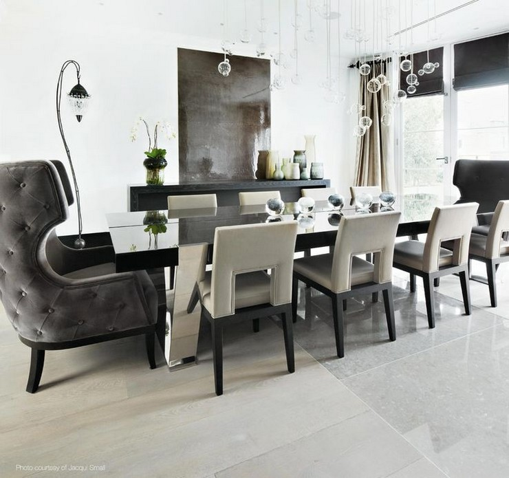 Kelly Hoppen - The Family Home in London 4  50 Best Interior Design Projects by Kelly Hoppen Kelly Hoppen The Family Home in London 4
