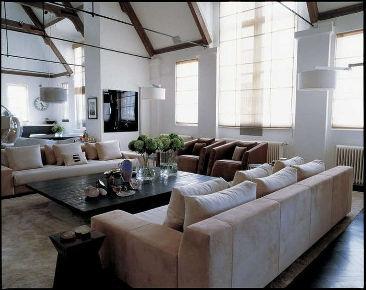 Kelly Hoppen - The Loft in London 4  50 Best Interior Design Projects by Kelly Hoppen Kelly Hoppen The Loft in London 4