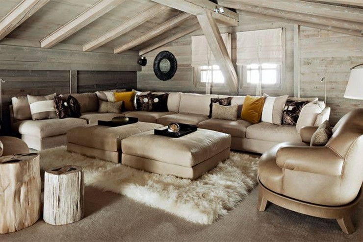 Kelly Hoppen - The Ski Chalet in France 2  50 Best Interior Design Projects by Kelly Hoppen Kelly Hoppen The Ski Chalet in France 2