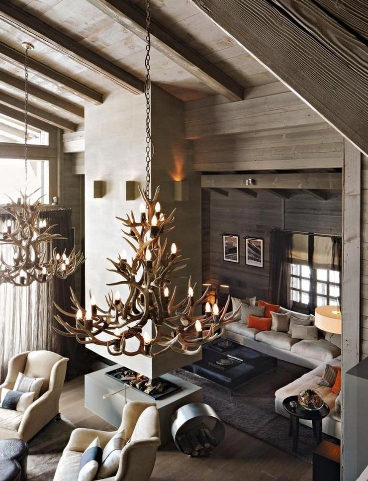 Kelly Hoppen - The Ski Chalet in France 4  50 Best Interior Design Projects by Kelly Hoppen Kelly Hoppen The Ski Chalet in France 4