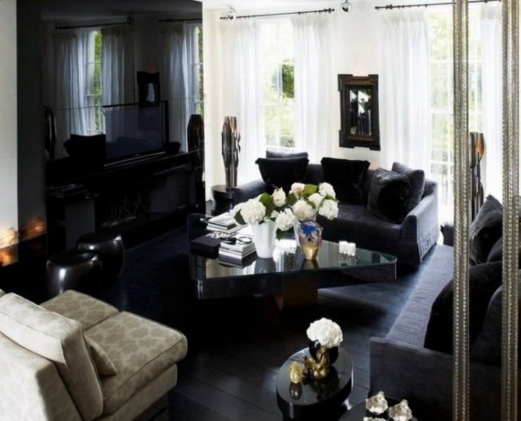 Kelly Hoppen - The Townhouse in London 5  50 Best Interior Design Projects by Kelly Hoppen Kelly Hoppen The Townhouse in London 5