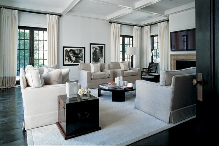 Kelly Hoppen - The Traditional Home in New York  50 Best Interior Design Projects by Kelly Hoppen Kelly Hoppen The Traditional Home in New York
