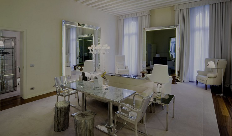 P. Starck - Palazzina Grassi - Venice 2 philippe starck 50 Best Interior Design Projects by Philippe Starck Philippe Starck Palazzina Grassi Venice 2