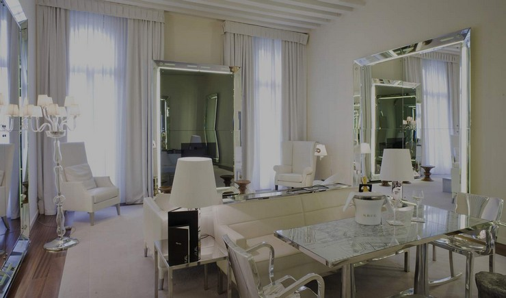 P. Starck - Palazzina Grassi - Venice philippe starck 50 Best Interior Design Projects by Philippe Starck Philippe Starck Palazzina Grassi Venice