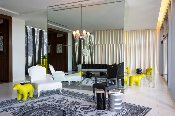 P. Starck - Yoo Hotels and Residences Project  philippe starck 50 Best Interior Design Projects by Philippe Starck Philippe Starck Yoo Panama