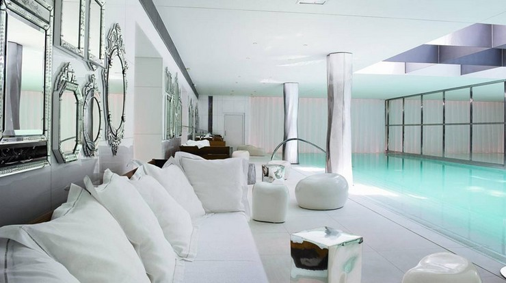 P. Starck - le-royal-monceau-raffles-paris philippe starck 50 Best Interior Design Projects by Philippe Starck Philippe Starck le royal monceau raffles paris