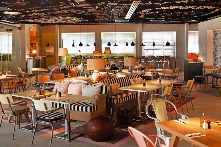 P. Starck - Mama Shelter Istanbul philippe starck 50 Best Interior Design Projects by Philippe Starck Philippe Starck mama shelter istanbul