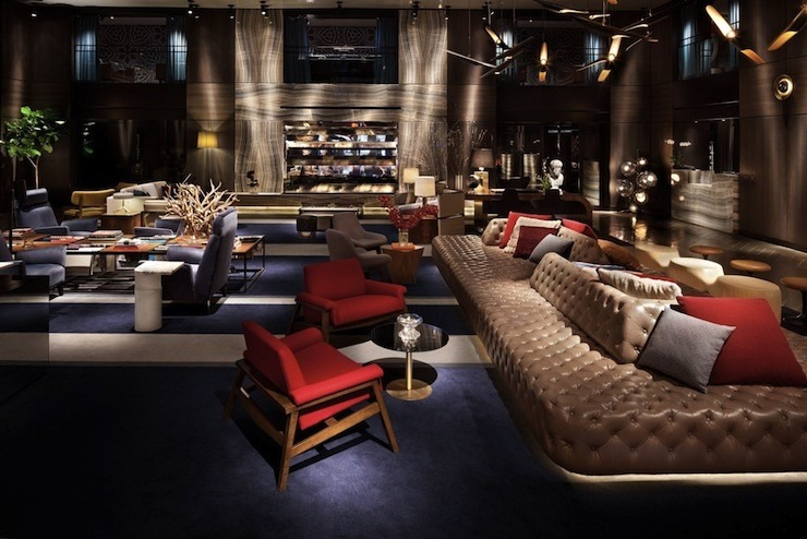 P. Starck -starck-hotel-Hudson-New-York philippe starck 50 Best Interior Design Projects by Philippe Starck Philippe starck hotel Hudson New York