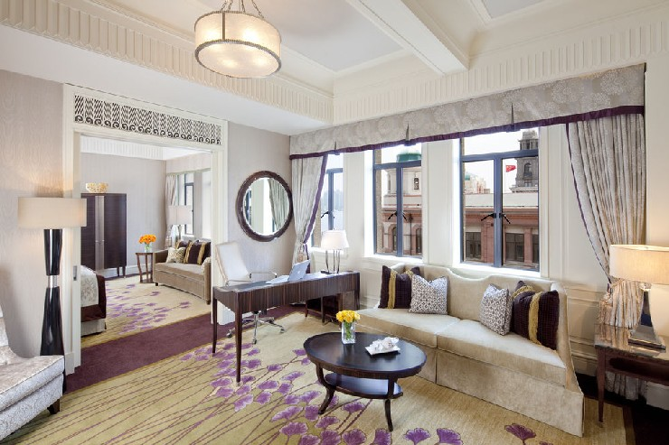 The newly revitalized Fairmont Peace Hotel will offer 270 deluxe guestrooms and suites  25 Best Interior Design Projects by HBA / Hirsch Bedner Associates 1 The newly revitalized Fairmont Peace Hotel will offer 270 deluxe guestrooms and suites