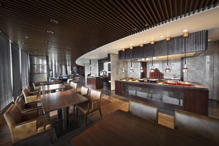 Hirsch Bedner Associates nuo hotel beijing restaurant design  25 Best Interior Design Projects by HBA / Hirsch Bedner Associates 10 Hirsch Bedner Associates nuo hotel beijing restaurant design