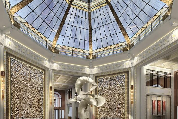 Fairmont Peace Hotel Shanghai by HBA Design  25 Best Interior Design Projects by HBA / Hirsch Bedner Associates 17 Fairmont Peace Hotel Shanghai by HBA Design