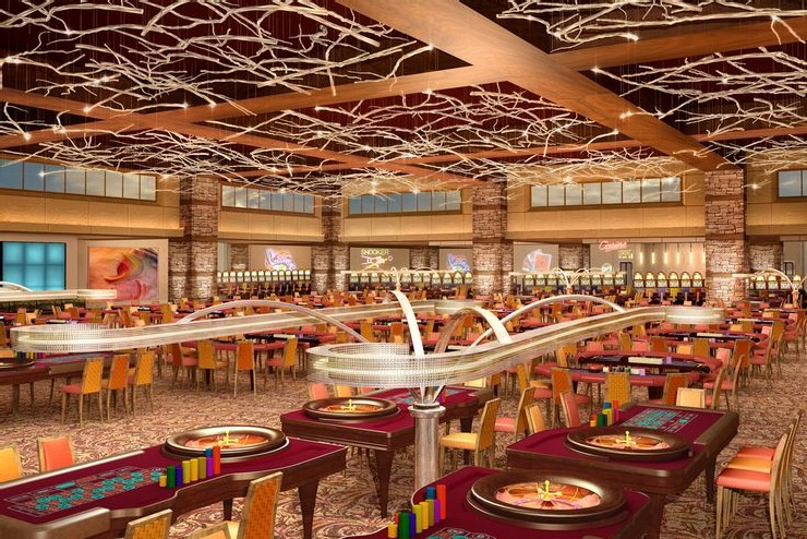 Rendering of Mont Parnes Casino Resort, interior designed by HBA Hirsch Bedner Associates  25 Best Interior Design Projects by HBA / Hirsch Bedner Associates 21 Rendering of Mont Parnes Casino Resort interior designed by HBA Hirsch Bedner Associates