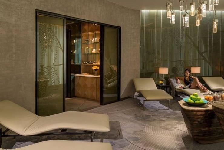Hua Spa at Four Seasons Hotel Guangzhou, designed by HBA Hirsch Bedner Associates.  25 Best Interior Design Projects by HBA / Hirsch Bedner Associates 24 Hua Spa at Four Seasons Hotel Guangzhou designed by HBA Hirsch Bedner Associates