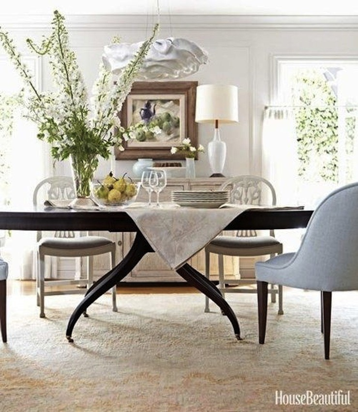 Barbara Barry ~ Oushak rug in Corona Del Mar home  25 Best Interior Design Projects by Barbara Barry Barbara Barry Oushak rug in Corona Del Mar home