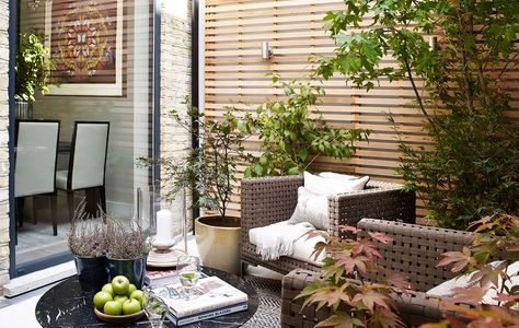Room of the month - June. Courtyard by Helen Green Design - Chelsea, London.