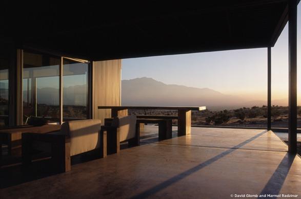 Desert House  marmol radziner 25 Best Interior Design Projects by Marmol Radziner desert house 2