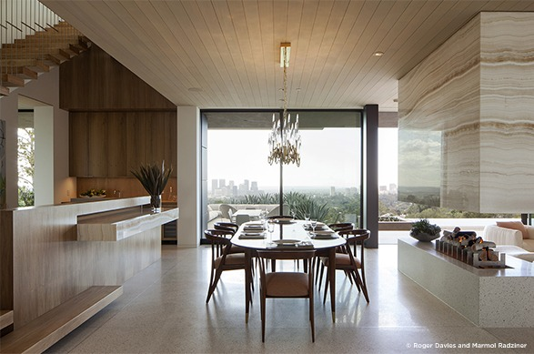 summitridge residence marmol radziner 25 Best Interior Design Projects by Marmol Radziner summitridge residence 4