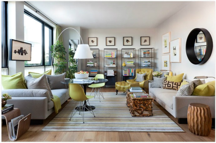 Elle Decor Concept House / Photo by Nick Johnson carrier and company Top Interior Designers | Carrier and Company best interior designers carrier and company elle house 1