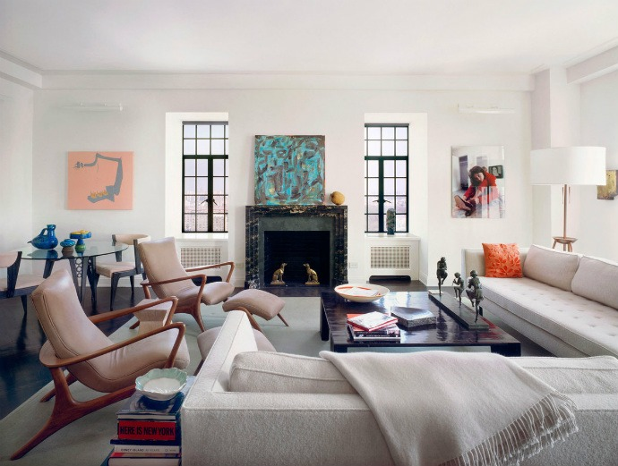 Central Park West Apartment No. 4, New York  Top Interior Designers | Deborah Berke Partners best interior designers deborah berke partners upper west side apartment new york ny 2012