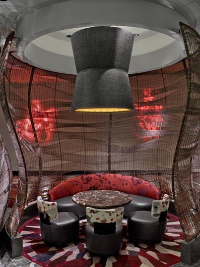 Best Interior Designers 17 Rockwell Nobu Restaurant And Lounge Caesars Palace At The Nobu Hotel