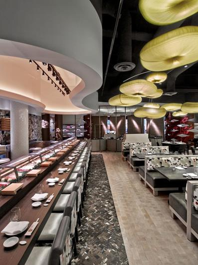 Best Interior Designers 2 Rockwell Nobu Restaurant And Lounge Caesars Palace At The Nobu Hotel