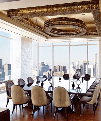 Best Interior Designers 47 Rockwell Group New York City Penthouse Best Interior Designers 47