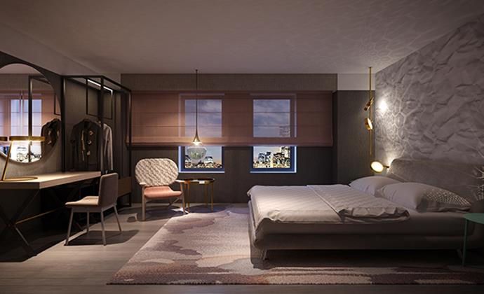 Best Interior Designers 48 Rockwell The Time Hotel In New York