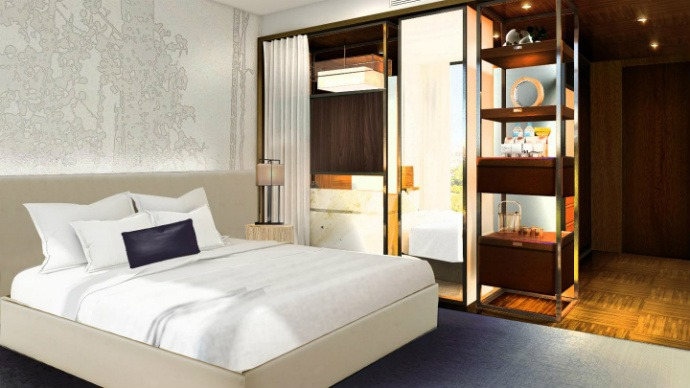 Rockwell group announced new hotel interior design project for Ideal hotel design avis