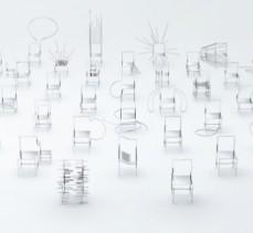 50 Manga chairs by Oki Sato