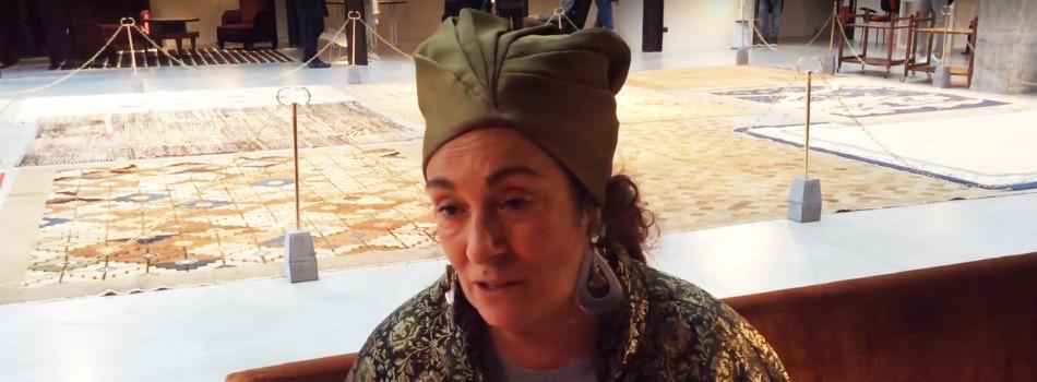 Interview with Nina Yashar at Nilufar showroom in Milan
