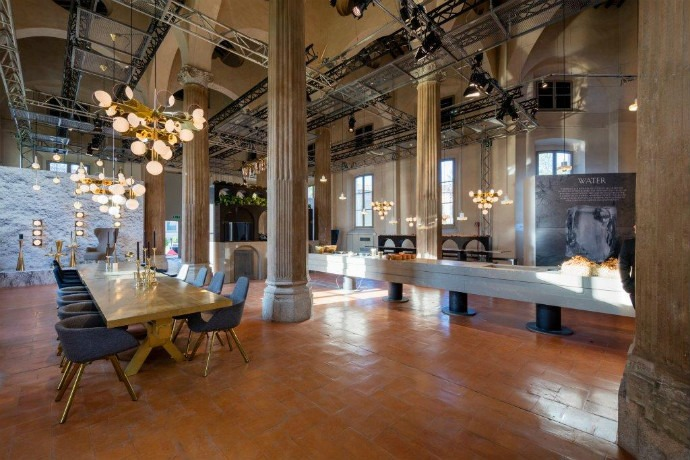 best-interior-designers-the-restaurant-by-tom-dixon-and-caesarstone-at-milan-design-week (3)  THE Restaurant by Tom Dixon and Caesarstone best interior designers the restaurant by tom dixon and caesarstone at milan design week 3