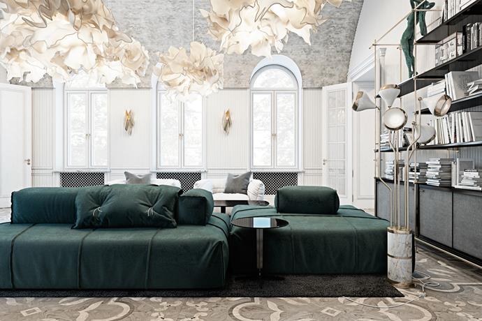 Stunning Italian residence by Ukrainian by Vitaliy Yurov and Iryna Dzhemesiuk  interior designers Stunning Italian residence by Ukrainian interior designers Stunning Italian residence by Ukrainian interior designers 12