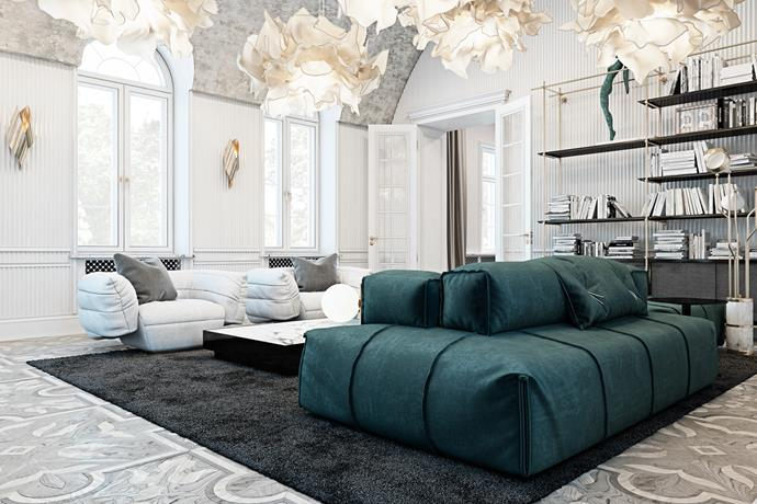 Stunning Italian residence by Ukrainian by Vitaliy Yurov and Iryna Dzhemesiuk  interior designers Stunning Italian residence by Ukrainian interior designers Stunning Italian residence by Ukrainian interior designers 3