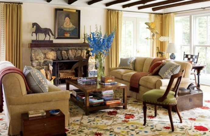 Traditional Interior Design By Ownby: Top 100 Architects And Designers By Architectural Digest