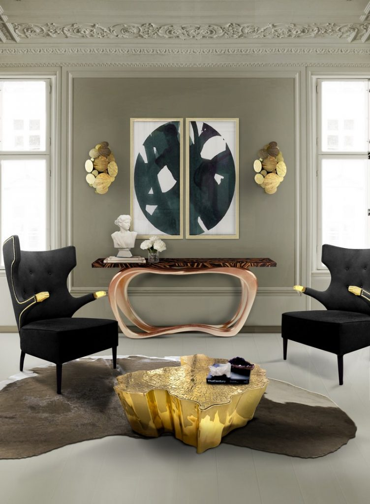 100+ Refined Decorating Ideas That Are Pure Gold - How about a little bit of great inspirational decorating ideas? So get inspired by the best interior design projects chosen by our editors' team! ➤ Discover the season's newest designs and inspirations. Visit Best Interior Designers at www.bestinteriordesigners.eu #bestinteriordesigners #luxuryfurniturebrands #bestdesignprojects @BestID @koket @bocadolobo @delightfulll @brabbu @essentialhomeeu @circudesign @mvalentinabath @luxxu golden interior design ideas 100+ Golden Interior Design Ideas Picked by Interior Design Magazines Interior Design Tips 100 Refined Decorating Ideas That Are Pure Gold 47
