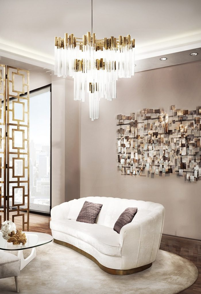 100+ Refined Decorating Ideas That Are Pure Gold - Check out these awesome interior design ideas gathered by Best Interior Designers' team and discover how to make an incredible interior design project!➤ Discover the season's newest designs and inspirations. Visit Best Interior Designers at www.bestinteriordesigners.eu #bestinteriordesigners #luxuryfurniturebrands #bestdesignprojects @BestID @koket @bocadolobo @delightfulll @brabbu @essentialhomeeu @circudesign @mvalentinabath @luxxu golden interior design ideas 100+ Golden Interior Design Ideas Picked by Interior Design Magazines Interior Design Tips 100 Refined Decorating Ideas That Are Pure Gold 82