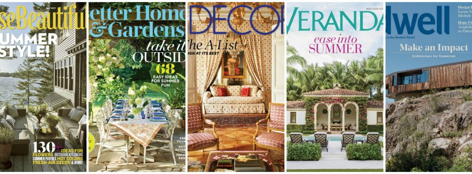 5 Best Selling Interior Design Magazines According to Amazon