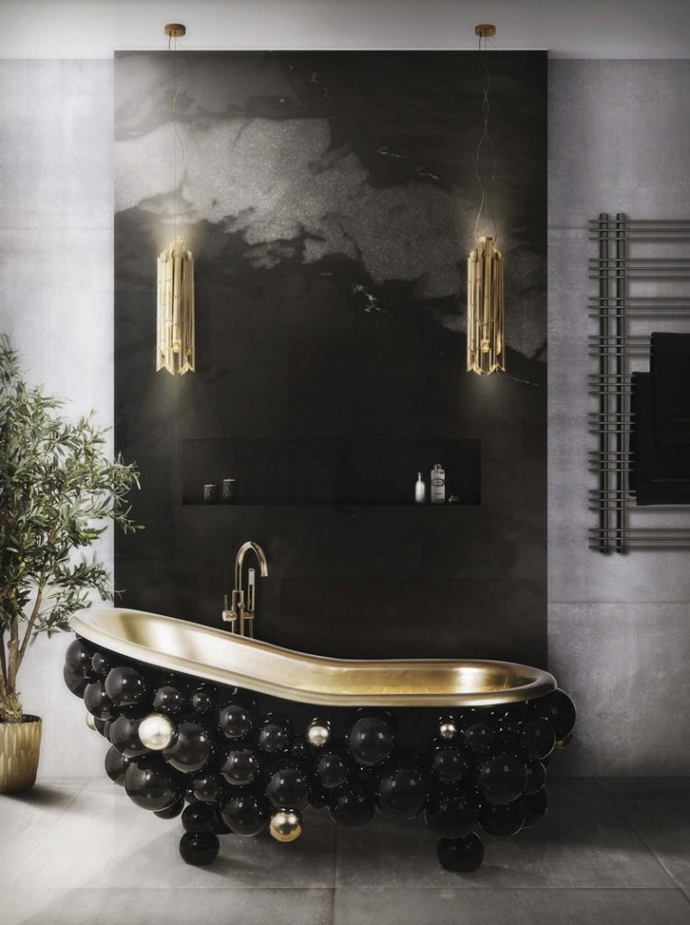 50 Unforgettable Black Accents and Interior Decor Ideas - @BestID has pulled together inspiration more than 100 living room decor ideas designed by some of the best luxury furniture brands in the world. ➤ Discover the season's newest designs and inspirations. Visit Best Interior Designers at www.bestinteriordesigners.eu #bestinteriordesigners #topinteriordesigners #bestdesignprojects @BestID @brabbu @bocadolobo @koket @delightfulll @essentialhomeeu @circudesign @mvalentinabath @luxxu black modern home furnishings 50 Interior Decorating Ideas with Black Modern Home Furnishings 50 Unforgettable Black Home Accents and Interior Decorating Ideas 110