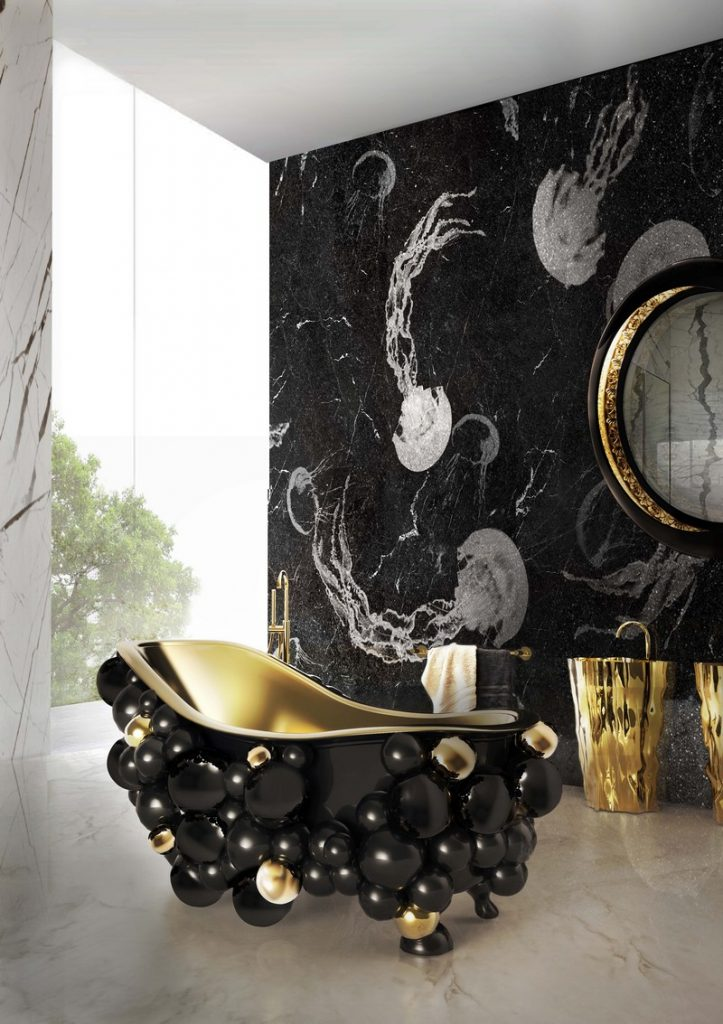 50 Unforgettable Black Accents and Interior Decor Ideas - @BestID has pulled together inspiration more than 100 living room decor ideas designed by some of the best luxury furniture brands in the world. ➤ Discover the season's newest designs and inspirations. Visit Best Interior Designers at www.bestinteriordesigners.eu #bestinteriordesigners #topinteriordesigners #bestdesignprojects @BestID @brabbu @bocadolobo @koket @delightfulll @essentialhomeeu @circudesign @mvalentinabath @luxxu black modern home furnishings 50 Interior Decorating Ideas with Black Modern Home Furnishings 50 Unforgettable Black Home Accents and Interior Decorating Ideas 86