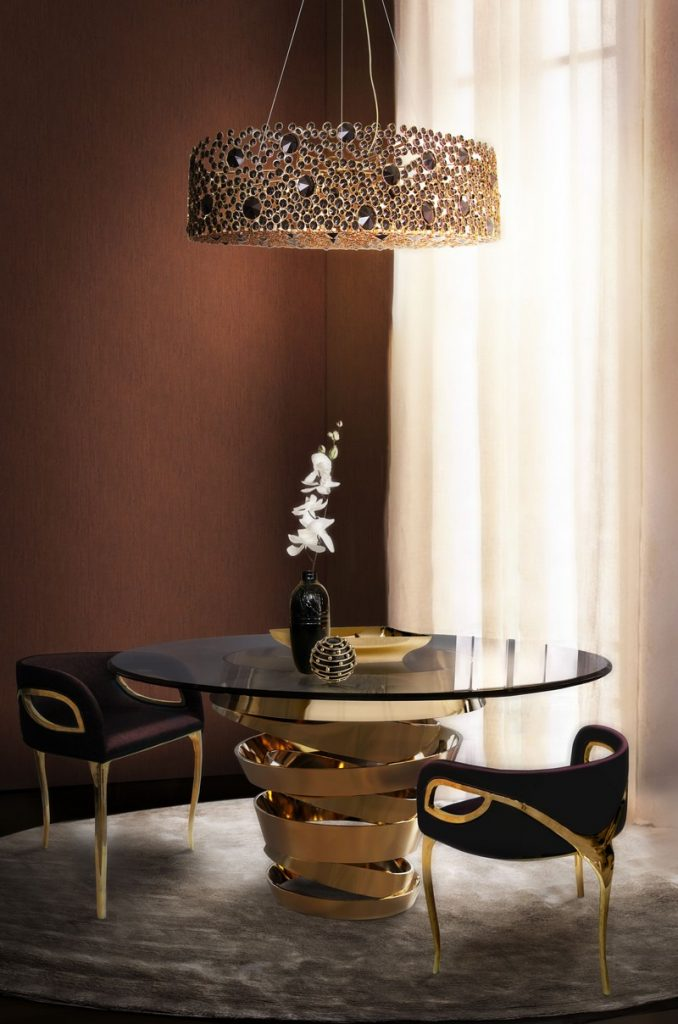 50 Unforgettable Black Accents and Interior Decor Ideas - @BestID has pulled together inspiration more than 100 living room decor ideas designed by some of the best luxury furniture brands in the world. ➤ Discover the season's newest designs and inspirations. Visit Best Interior Designers at www.bestinteriordesigners.eu #bestinteriordesigners #topinteriordesigners #bestdesignprojects @BestID @brabbu @bocadolobo @koket @delightfulll @essentialhomeeu @circudesign @mvalentinabath @luxxu black modern home furnishings 50 Interior Decorating Ideas with Black Modern Home Furnishings 50 Unforgettable Black Home Accents and Interior Decorating Ideas 90